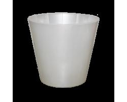 Горшок Фиджи Орхид D23мм 5л белый перламутр