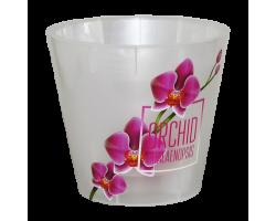Горшок Фиджи SIMPLE ORCHID DECOR D16мм 1,6л розовая орхидея