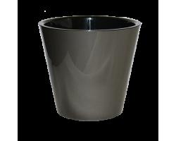 Горшок Фиджи D16мм 1,6л металл антрацит