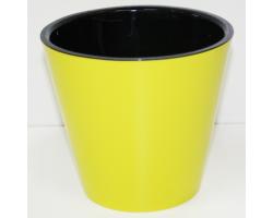 Горшок Фиджи D23см 5,0л желтый