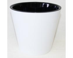 Горшок Фиджи D16мм 1,6л белый