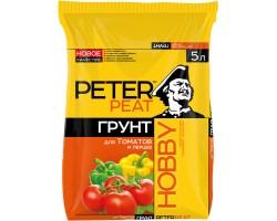 Для томатов и перцев PETER PEAT линия HOBBY 5,0л
