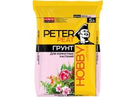 Для комнатных растений PETER PEAT линия HOBBY 5,0л
