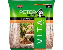 Керамзит PETER PEAT фракция 5-10мм линия VITA 2,0л