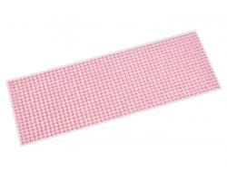 Наклейки на листе стразы 4мм (1000шт) розовые