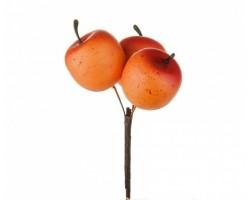 Яблоки на вставке 3*4*50см оранжевый
