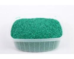 Песок цветной 0,5-1,0мм темно-зеленый 301527035018