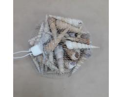 Ракушки декоративные Мадагаскар 100гр арт.2908