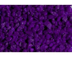 Гравий декоративный радуга 500гр фиолетовый арт.2889