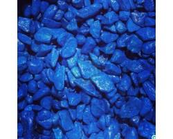 Гравий декоративный радуга 500гр синий арт.2890