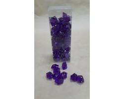 Искусственный лёд 22-27мм 200гр фиолетовый