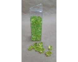 Искусственный лёд 22-27мм 200гр светло-зеленый
