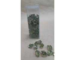 Искусственный лёд 22-27мм 200гр зеленый