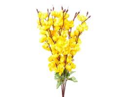 Ветка цветущая 60см желтый арт.0041-33