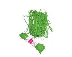 Рафия натуральная 102-45 12-15гр зеленая