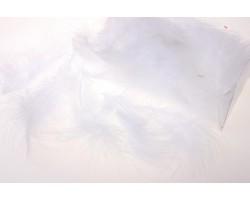 Перья марабу 12-15см 10гр белый арт.9921