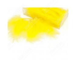 Перья марабу 12-15см 10гр лимонный арт.9928