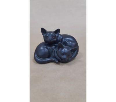 Кошки спящие (полистоун) 13*18*12см коричневый арт.BH101633P