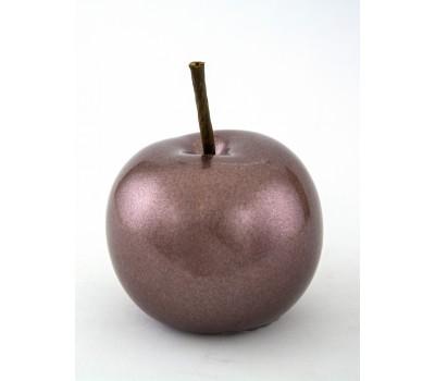 Сувенир Яблоко (керамика) 8*10см сиреневый арт.31706