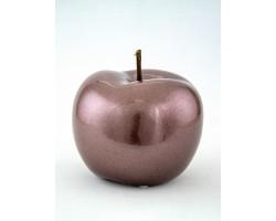 Сувенир Яблоко (керамика) 12*12см сиреневый арт.31707