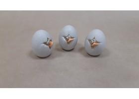 Фигурка Цыпленок в яйце (керамика) 5*4*H6см
