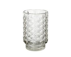 Подсвечник Таисия (стекло) D8,5*H13см прозрачный