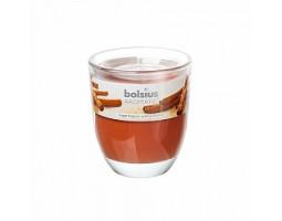 Свеча в стакане 8*7см 23 часа с запахом Сладких специй