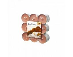 Набор свечей чайных (18шт) D3.7см 4 часа с запахом Сандала