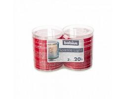 Свеча в стакане Spark Ribbon (2шт) 6.4*5.2см