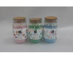 Свеча ароматическая в банке (стекло) H12,5см арт.CC5751110