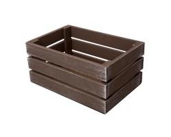 Ящик Прованс (дерево) 30*20*14см коричневый