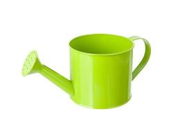 Кашпо Лейка (металл) D11,5*10*H25см зеленый арт.18038228-0201G