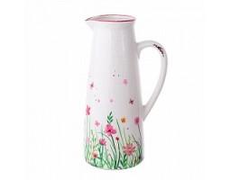 Кувшин Цветы (керамика) H27см арт.1011272