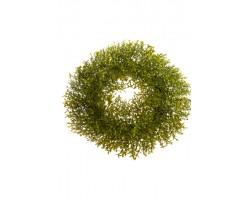 Венок 27см зеленый