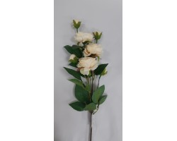 Роза кустовая 75см кремовая арт.033-45