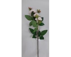 Роза кустовая 75см розовая арт.033-46