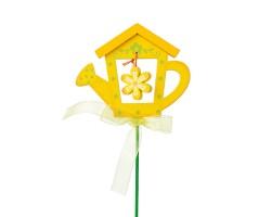 Вставка Лейка 7*Н20см желтый арт.FH13113Y