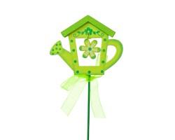 Вставка Лейка 7*Н20см зеленый арт.FH13113G