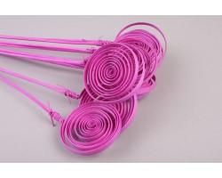 Кольца на пике (упак.10шт) фиолетовый