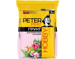 Для комнатных растений PETER PEAT линия HOBBY 10,0л