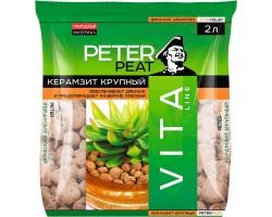 Керамзит PETER PEAT фракция 10-20мм линия VITA 10,0л