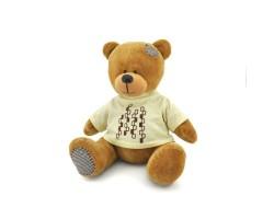 Медвежонок Топтыжкин 30см коричневый арт.MA1981/30