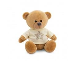 Медведь Топтыжкин звезда 17см коричневый арт.MA1992/17