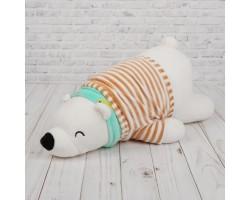 Белый медведь полосатая футболка арт.3520064