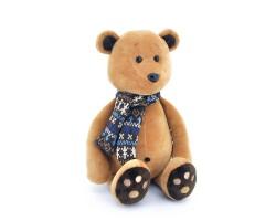 Медвежонок Медок в шарфике 30см арт.OS089/30
