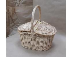 Корзина для пикника плетеная (ива) 34*25*18*Н15/35см 5500011748771