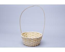 Корзина плетеная (бамбук) D9*H20/35см натуральный арт.73750