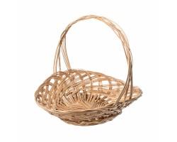 Корзина плетеная Шляпа D35.5*5*H25см натуральный