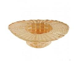 Корзина Шляпка (бамбук) D27*H8,5см арт.2401268