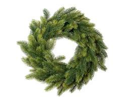 Венок еловый D46см зеленый арт.HC166.18W